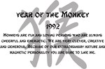 Year Of The Monkey 1992