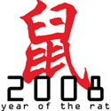2008 Year of The Rat T-Shirt