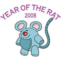 Funny Year of Rat 2008 T-Shirts