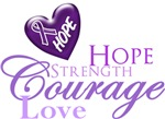 Hope, Strength, Courage, Love