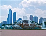 Fountain in Chicago