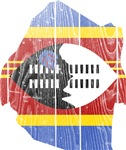 Swaziland Flag And Map