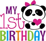 Panda 1st Birthday