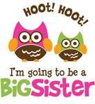 Retro Owl going to be Big Sister