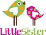 Polka Dot Birds Little Sister