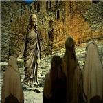 Jesus Preacing The Temple