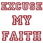 Excuse My Faith Red
