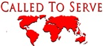 Called to Serve Globe Red