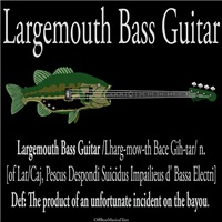 Largemouth Bass Guitar