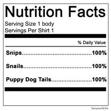 Little Boy Nutrition Facts