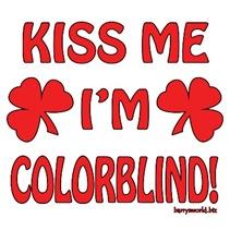 Kiss Me I'm Colorblind