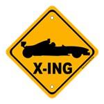 Race Car Crossing