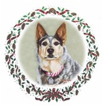 Australian Cattle Dog Christmas