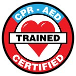 CPR AED CERTIFIED TRAINED
