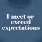 I Meet Expectations