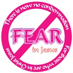 No Fear in Jesus Christian product line