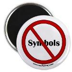 """""""Abolish symbols"""" Buttons, Magnets, and Stickers"""