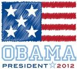 Obama Stars & Stripes