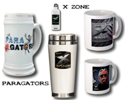The 'X' ZONE - PARAGATORS Mugs and Steins