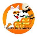 American Eskimo Dog Halloween