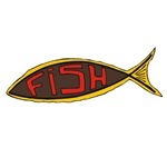 1225 Fish in Fish words