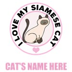 Personalized Siamese Cat Lover T-Shirts
