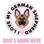 Personalized German Shepherd T-Shirts