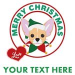 Personalized Chihuahua Christmas T-Shir