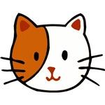 Calico Cat Cartoon