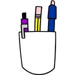 Geek Pencil Pocket