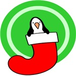 Christmas Stocking Penguin