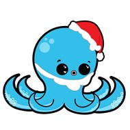 Holiday Octopus