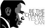 Obama - Change - Yes We Can - Grey