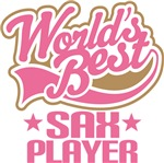 World's Best Sax Player Music Gifts