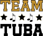 TEAM TUBA FUNNY MARCHING BAND SHIRTS