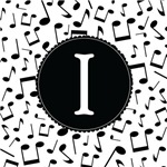 Music Monogram Letter I Gifts