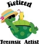 Retired Forensic Artist gift tshirts