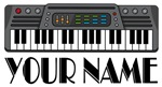 Personalized Keyboard Music Gifts and T-shirts