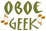 Oboe Geek T shirts