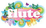 Retro Flute Gifts and Apparel