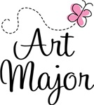 Cute Art Major T-shirts