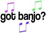 Funny Got Banjo T-shirts and Gifts