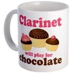 FUNNY CLARINET MUGS GIFTS