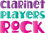 Cute Clarinet Players Rock Music Shirts