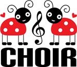 Choir Music Gift Ladybug T-shirts