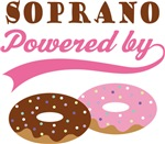 SOPRANO POWERED BY DONUTS T-shirts