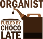 Organist Fueled By Chocolate Gifts