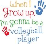 Future Volleyball Player Kids Tee Shirts