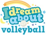 I Dream About Volleyball Gifts and Pajamas