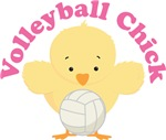 Volleyball Chick Tee Shirts